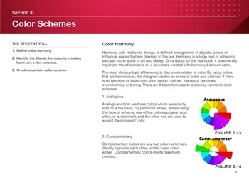 """Guide to Modern Yearbook Production - Lesson Two """"Color Theory and Schemes"""""""