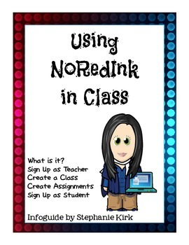 Guide to NoRedInk in Class - FREEBIE!