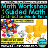 Guided Math Workshop How to Launch Math Stations Rotation Board System included