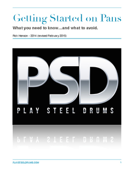 Guide to Steel Pans