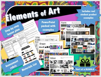 Guide to Understanding the Elements & Principles of Art Presentation & Project!