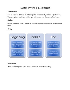 Guide to Writing a Book Report