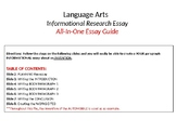 Guide to an Informational Research Essay