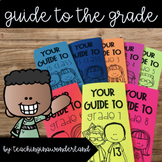Guide to the Grade Brochure Writing Activity