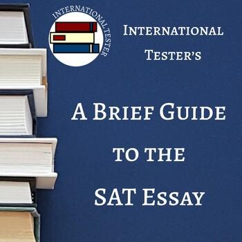 Sat essay guide