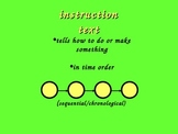 Guide to writing instructions