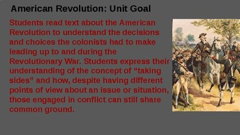 Guidebook 2.0 American Revolution Objectives