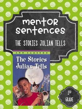 Guidebook Mentor Sentences Stories Julian Tells