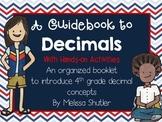 Guidebook to Decimals with Hands on Activities