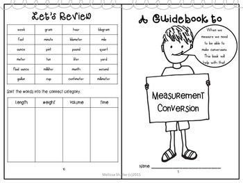 Guidebook to Measurement with Hands-on Activities