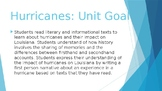 Guidebooks 2.0 Hurricanes - Objective signs for reading, g