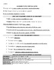 Guided Argumentative Writing Notes (student sheet & teache