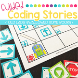 Guided Coding Stories - Old Lady Swallowed Some Books