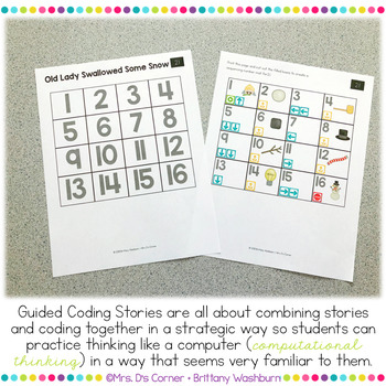 Guided Coding Stories - Old Lady Swallowed Some Snow