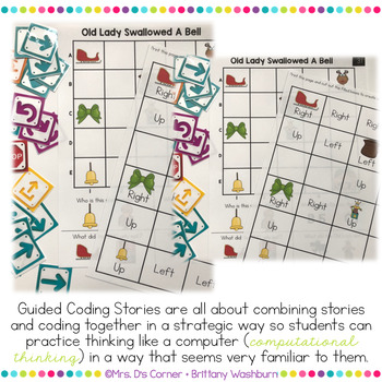 Guided Coding Stories - Old Lady Swallowed a Bell