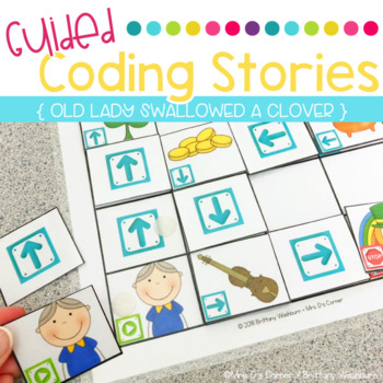 Guided Coding Stories - Old Lady Swallowed a Clover