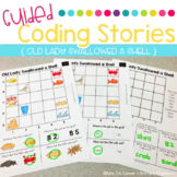 Guided Coding Stories - Old Lady Swallowed a Shell