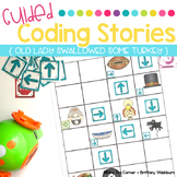 Guided Coding Stories - Old Lady Swallowed a Turkey