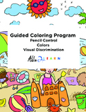 Guided Coloring Program: Pencil Control, Colors, Visual Discrimination