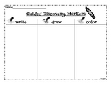 Guided Discovery for Markers Sheet