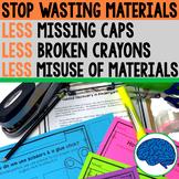 Teaching Care of Classroom Materials, Procedures & Routines (Kindergarten)