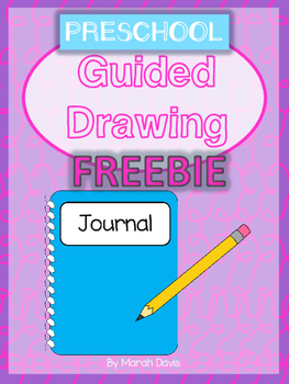 Guided Drawing for Journal - Letter's A,B & C - FREEBIE