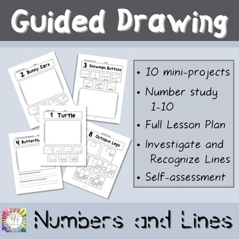 Guided Drawing Numbers and Lines