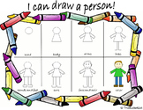 Guided Drawing: Person (Anchor Chart)
