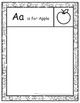 Guided Drawing Throughout the Alphabet Sample