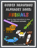 Animal Alphabet Book Guided Drawings.