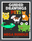 Guided Drawings Mega Bundle of Pets. 14 Guided Drawings.