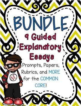Guided Explanatory Essays Bundle