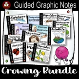Guided Graphic Notes Growing Bundle for Science
