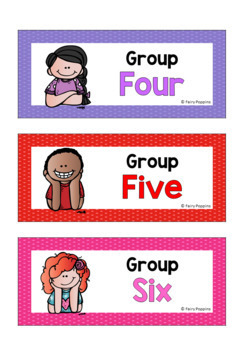 Guided Group Labels, Charts & Planners *NEW*