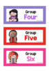 Guided Group Labels, Charts & Planners
