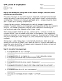 Guided Highlighted Reading - Introduction to Ecology