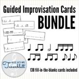 Guided Improvisation Cards: Rhythm BUNDLE