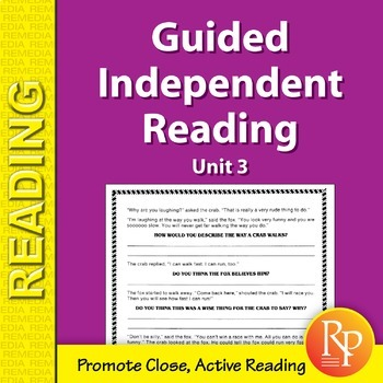 Guided Independent Reading - Unit 3