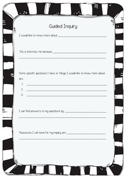 Guided Inquiry Template