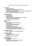 Guided Interview Questions for Right Hemisphere Impairment (editable)