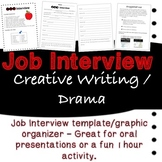 Guided Job Interview Skit Template with Prompts and Ideas