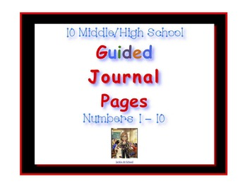 Guided Journal Pages 1-10