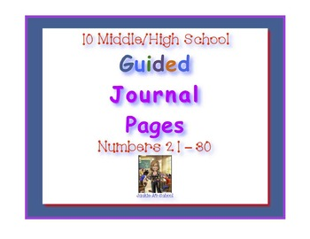Guided Journal Pages 21-30
