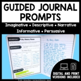 Guided Journal Prompts | Distance Learning - GOOGLE CLASSROOM