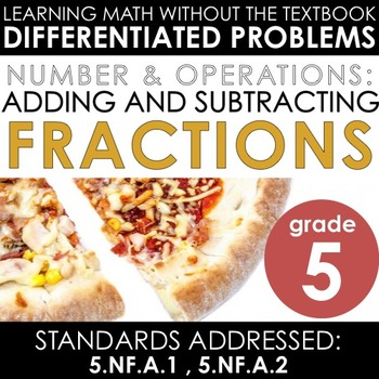 Guided Leveled Math: Adding and Subtracting Fractions
