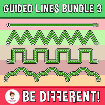 Guided Lines Clipart Bundle 3