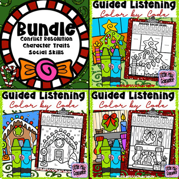 Guided Listening Bundle:  Color by Code