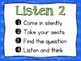Guided Listening Routine for the Music Classroom