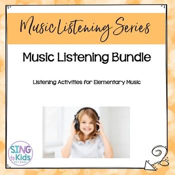 Music Listening: Guided Listening & Reading Activities Bundle