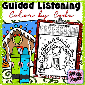Guided Listening on Conflict Resolution:  Color by Code